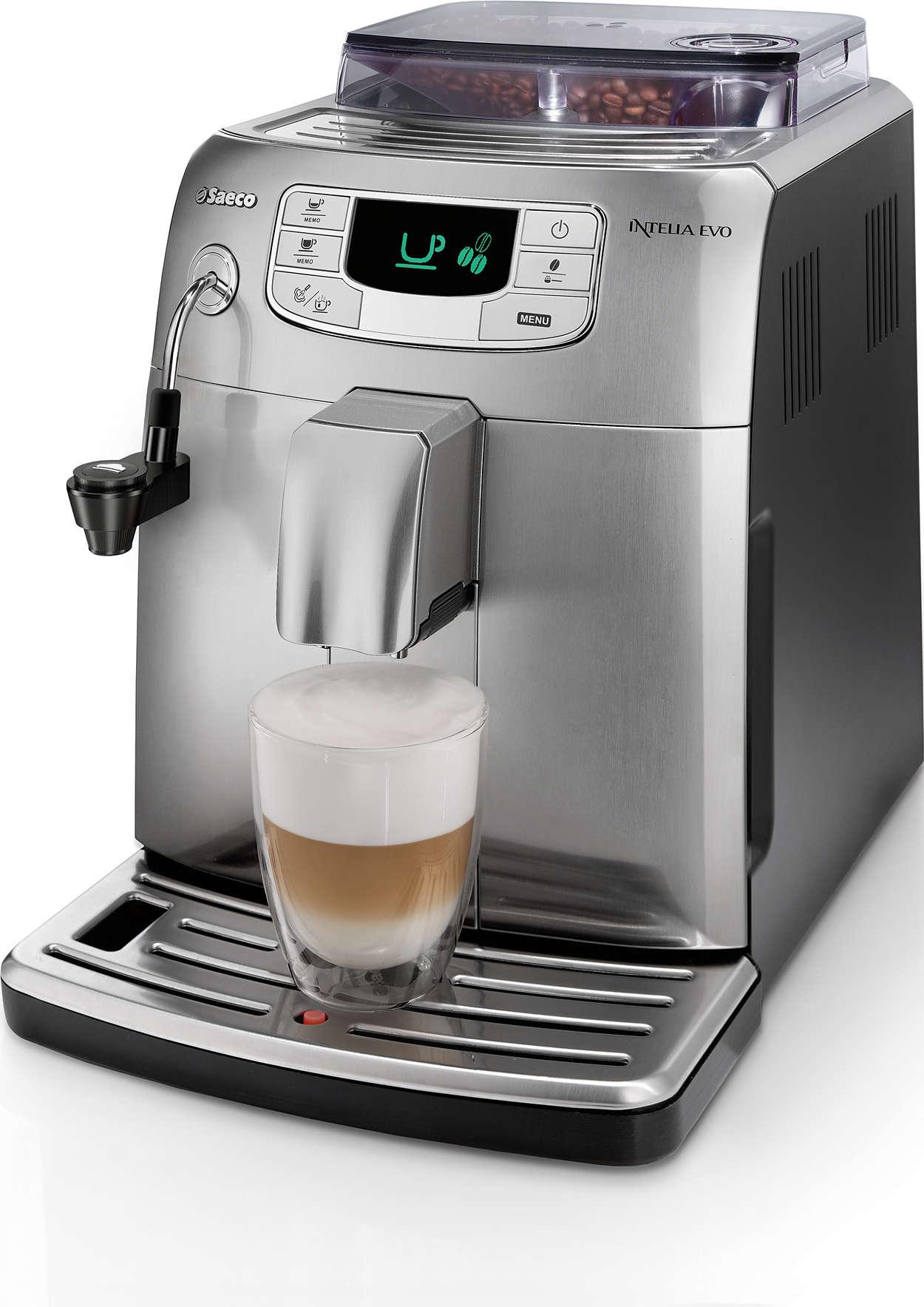 Espresso e crema di latte con un solo gesto