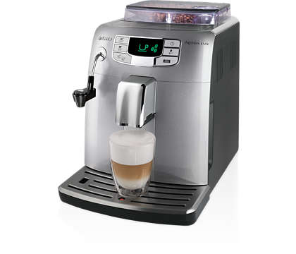One touch espresso and milk froth