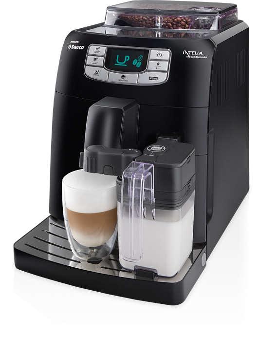 Espresso i cappuccino jednostavnim pritiskom gumba