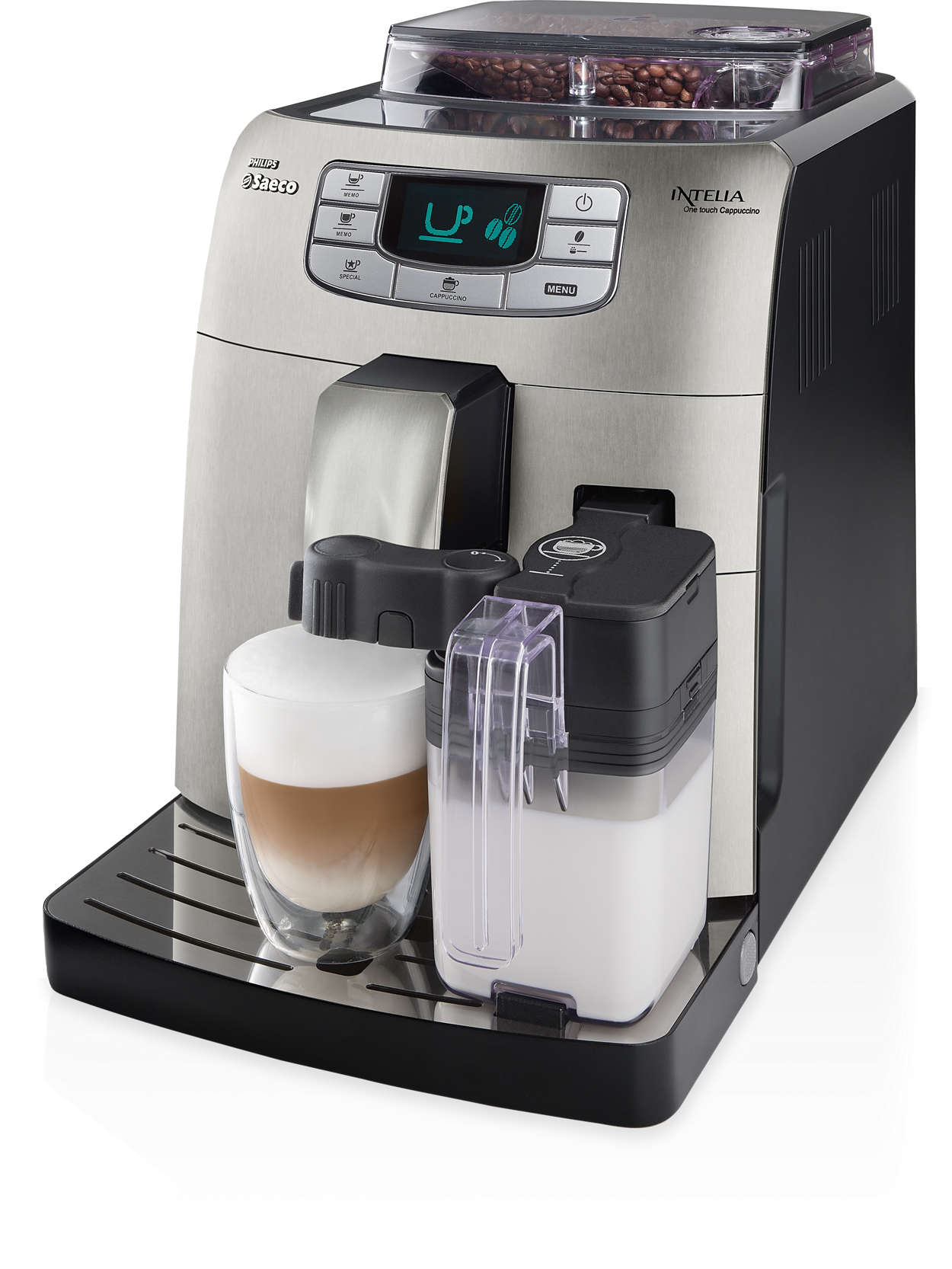 One touch Espresso and Cappuccino