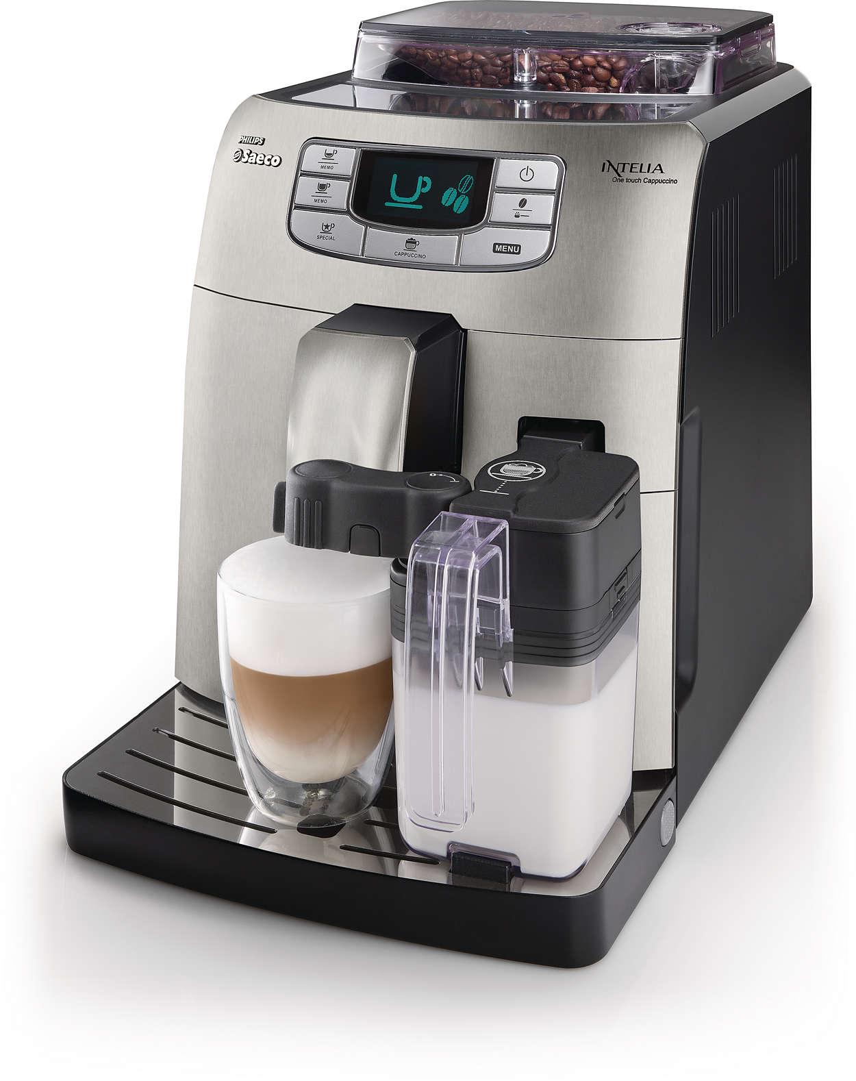 Perfekter Espresso und Cappuccino