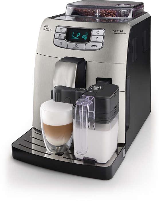 Espresso et cappuccino authentiques