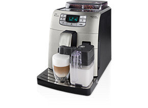 Philips Saeco Intelia Super-automatic espresso machine HD8753 83 Integrated milk jug frother Stainless steel