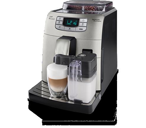 Intelia Super Automatic Espresso Machine Hd8753 87 Saeco