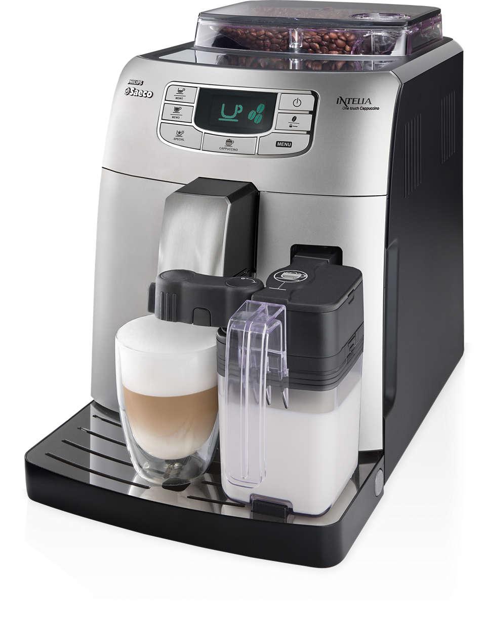 One-touch Espresso and Cappuccino