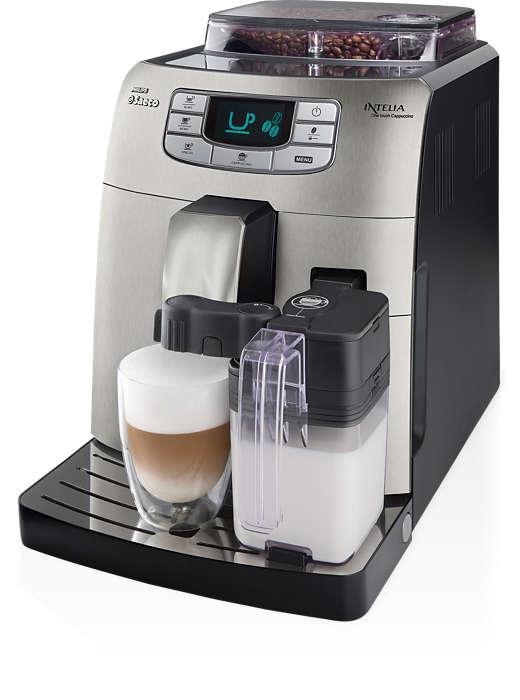 Espresso i cappuccino za jednym naciśnięciem przycisku