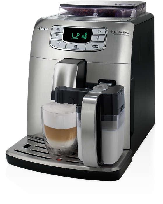 Egyérintéses presszókávé és cappuccino