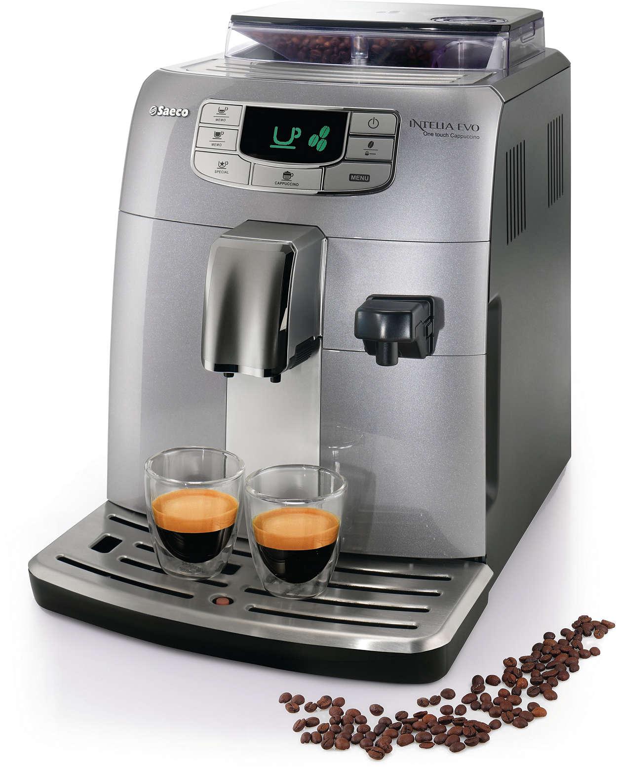 Cappuccino, Automatisch espressoapparaat
