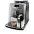 Saeco Intelia Evo Super-automatic espresso machine HD8753/95 Brews 7 coffee varieties Integrated milk jug & frother Pearl Silver 5 step adjustable grinder