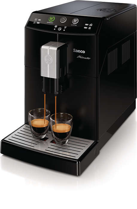 Altid din favoritkaffe med blot ét tryk