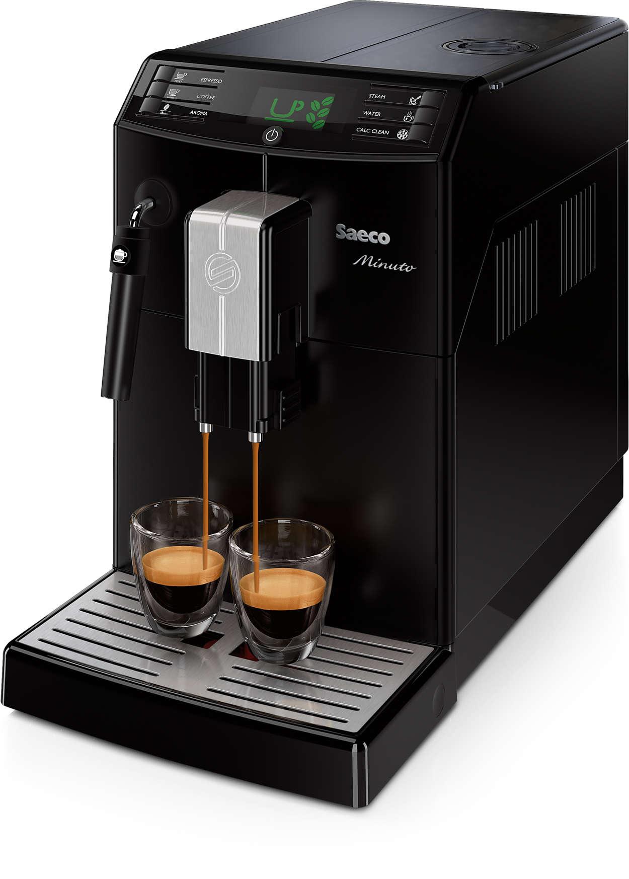 O seu café favorito sempre à disposição com um simples toque