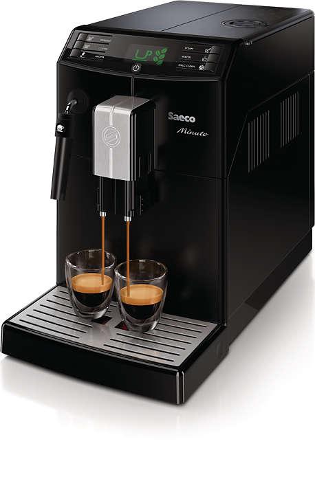 Sempre seu café favorito com apenas um toque