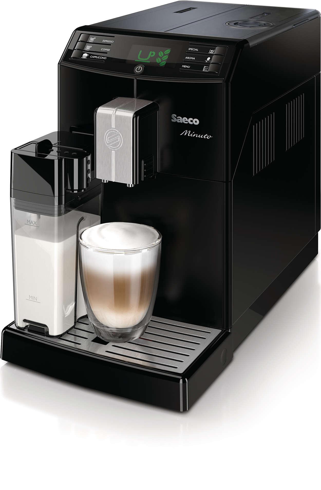 원터치로 즐기는 나만의 커피
