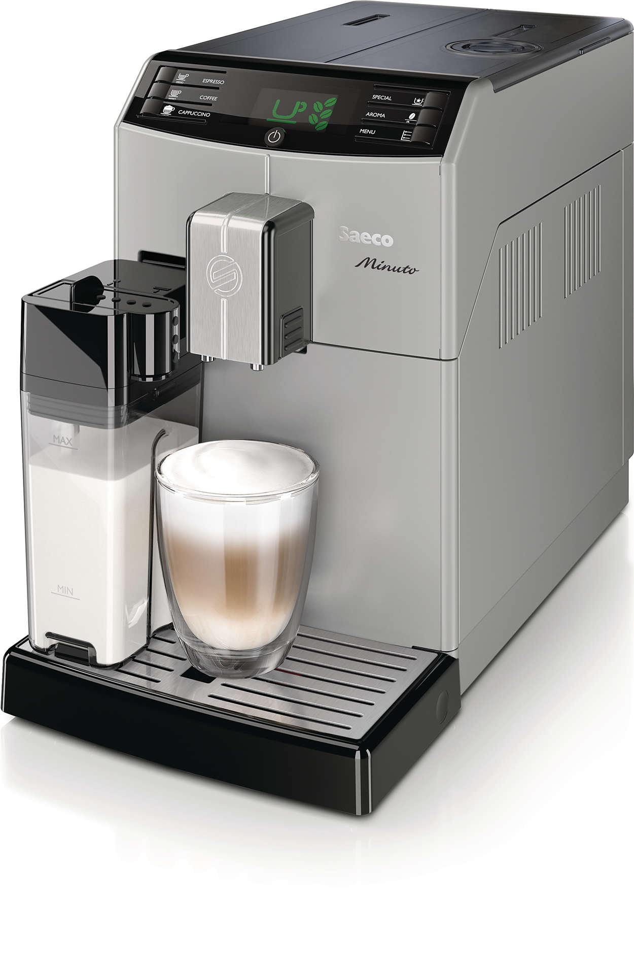 Genießen Sie Ihren Lieblingskaffee auf Knopfdruck