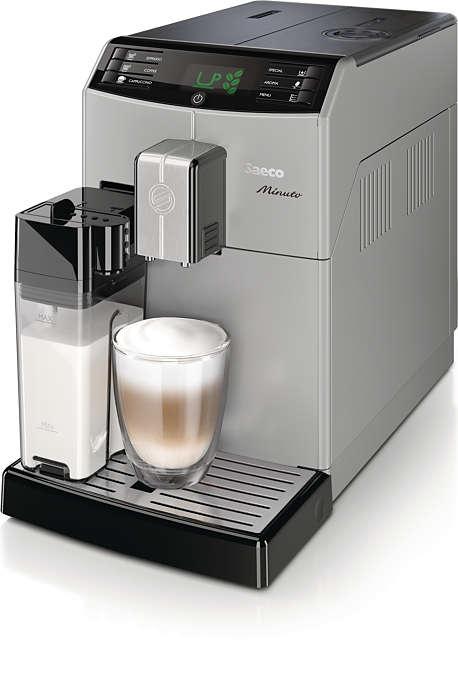 Få ditt favoritkaffe med bara en knapptryckning