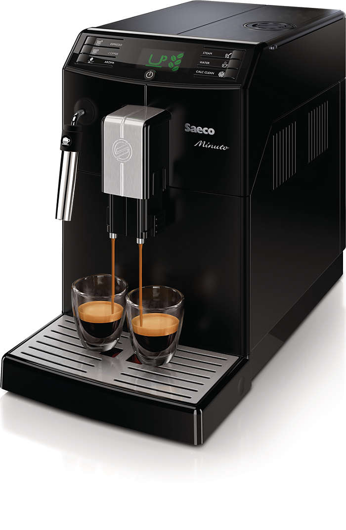 Siempre tu café favorito con solo tocar un botón