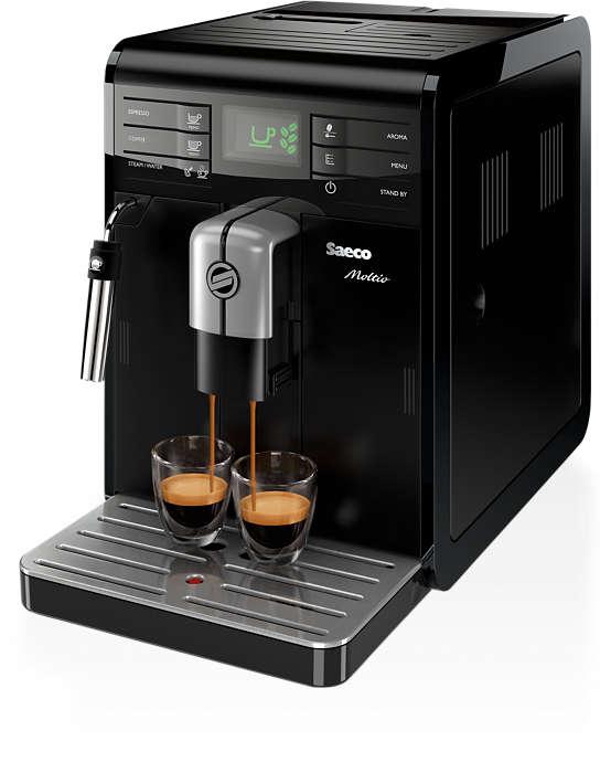 매 순간 최적의 커피 향을 즐기세요