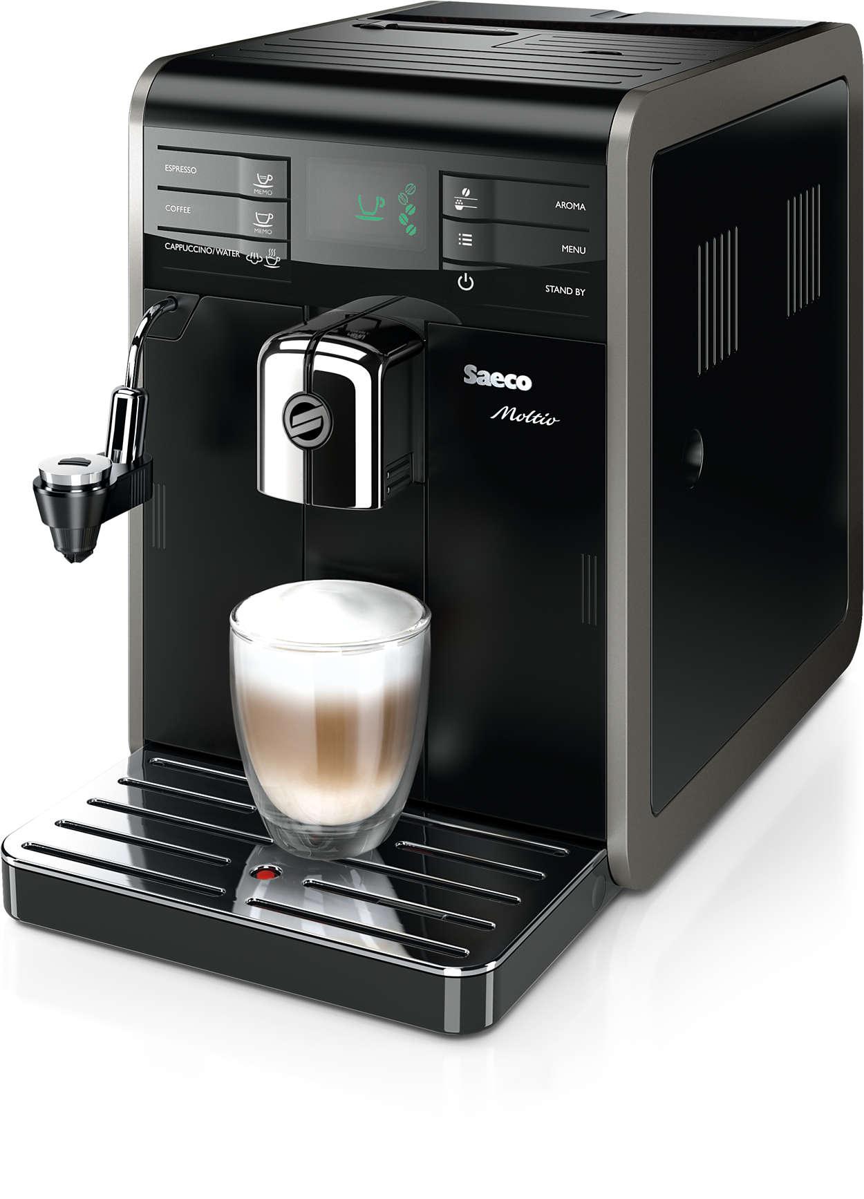 Hvert øjeblik fortjener den gode kaffesmag.