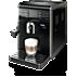 Saeco Moltio Super-automatic espresso machine HD8768/29 Brews 7 coffee varieties Automatic Milk Frother Black  5 step adjustable grinder