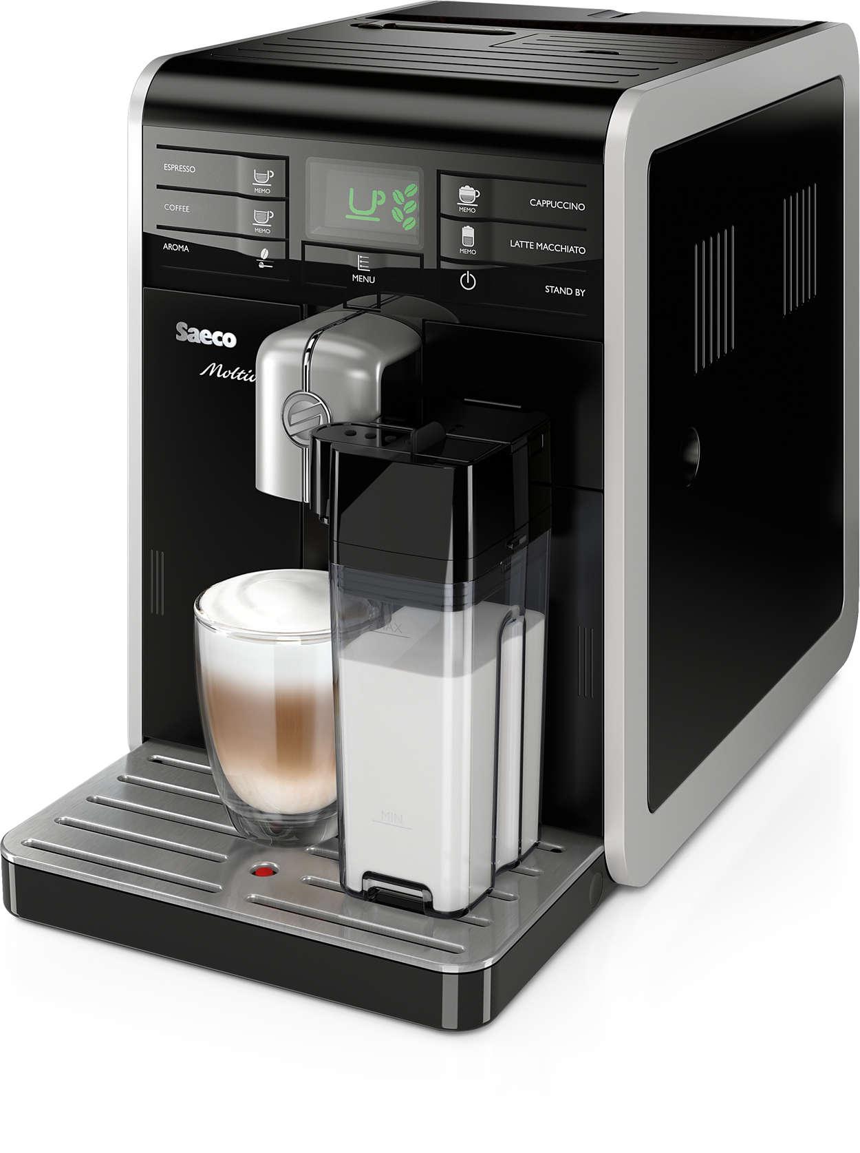 moltio kaffeevollautomat hd8769 01 saeco. Black Bedroom Furniture Sets. Home Design Ideas