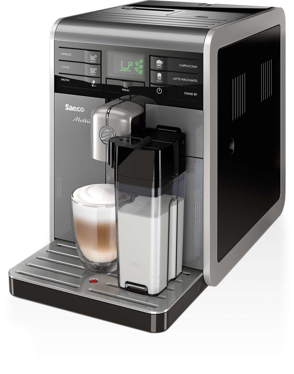 Jeder Moment verdient seinen perfekten Kaffeegeschmack