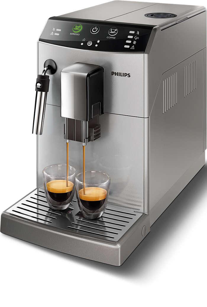 Ihr Lieblingskaffee immer nur einen Knopfdruck entfernt