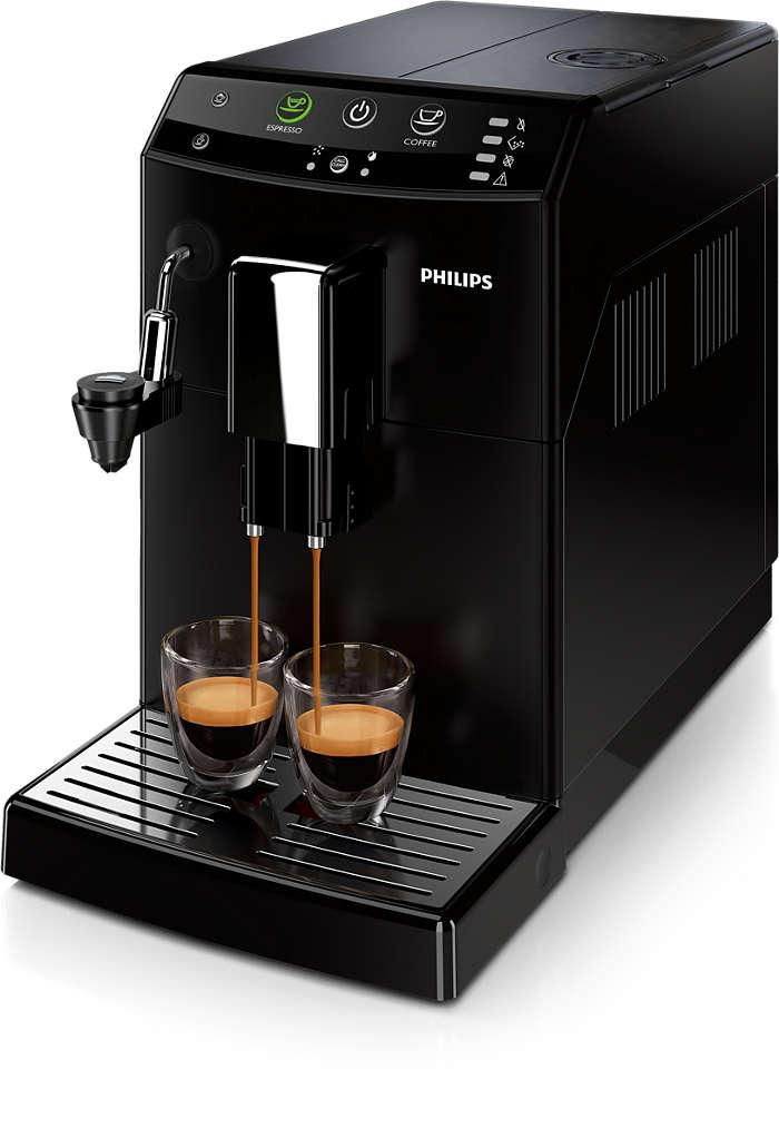 只需輕觸按鈕即可制作出您喜愛的咖啡