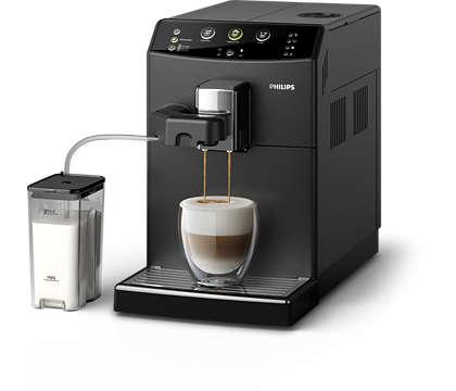 Ihr Lieblings-Cappuccino – nur einen Knopfdruck entfernt