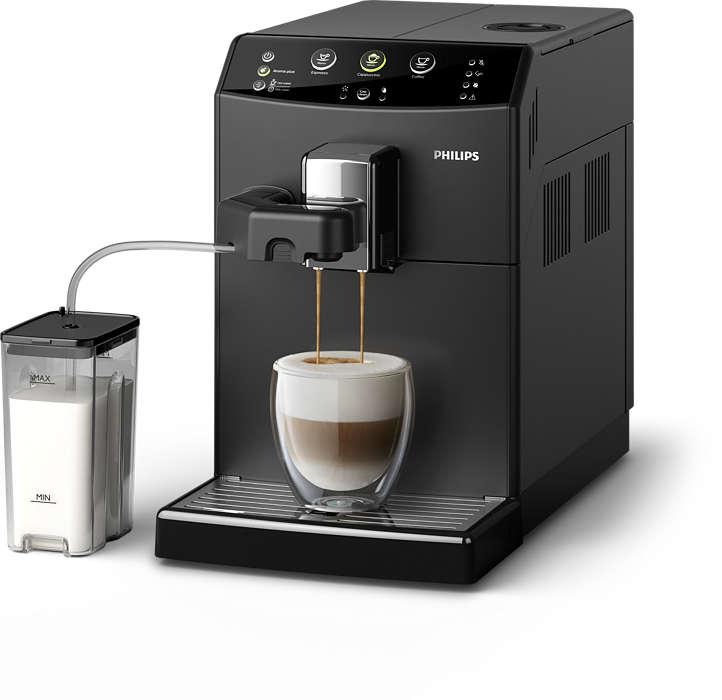 O seu cappuccino favorito à distância de um toque