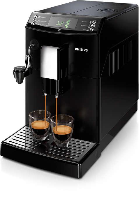 Kaffee auf Knopfdruck, ganz nach Ihrem Geschmack.
