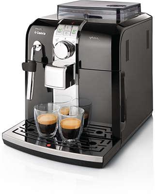 how to an espresso machine