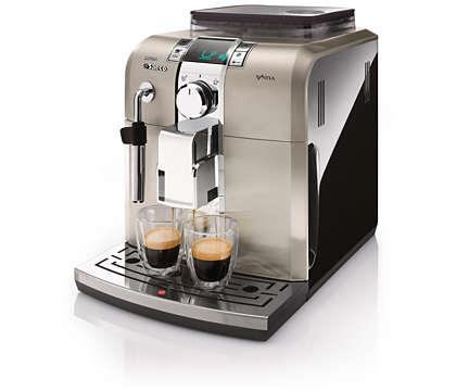 Trăieşte plăcerea unui espresso italian acasă