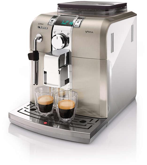 Geniet thuis van echte Italiaanse espresso