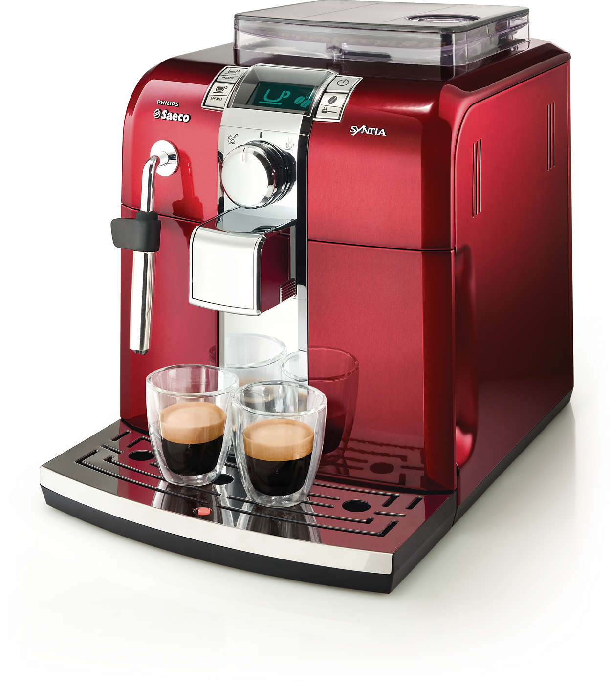 super automatic espresso machine hd8837 32 saeco. Black Bedroom Furniture Sets. Home Design Ideas