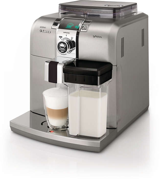 Il piacere dell'espresso a casa tua