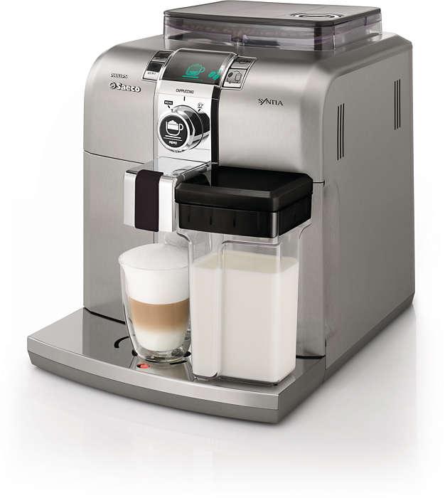 安在家中,細味品嚐意大利特濃咖啡
