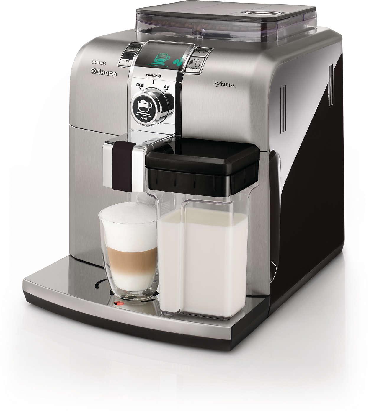 Poznaj smak prawdziwego włoskiego espresso w domu
