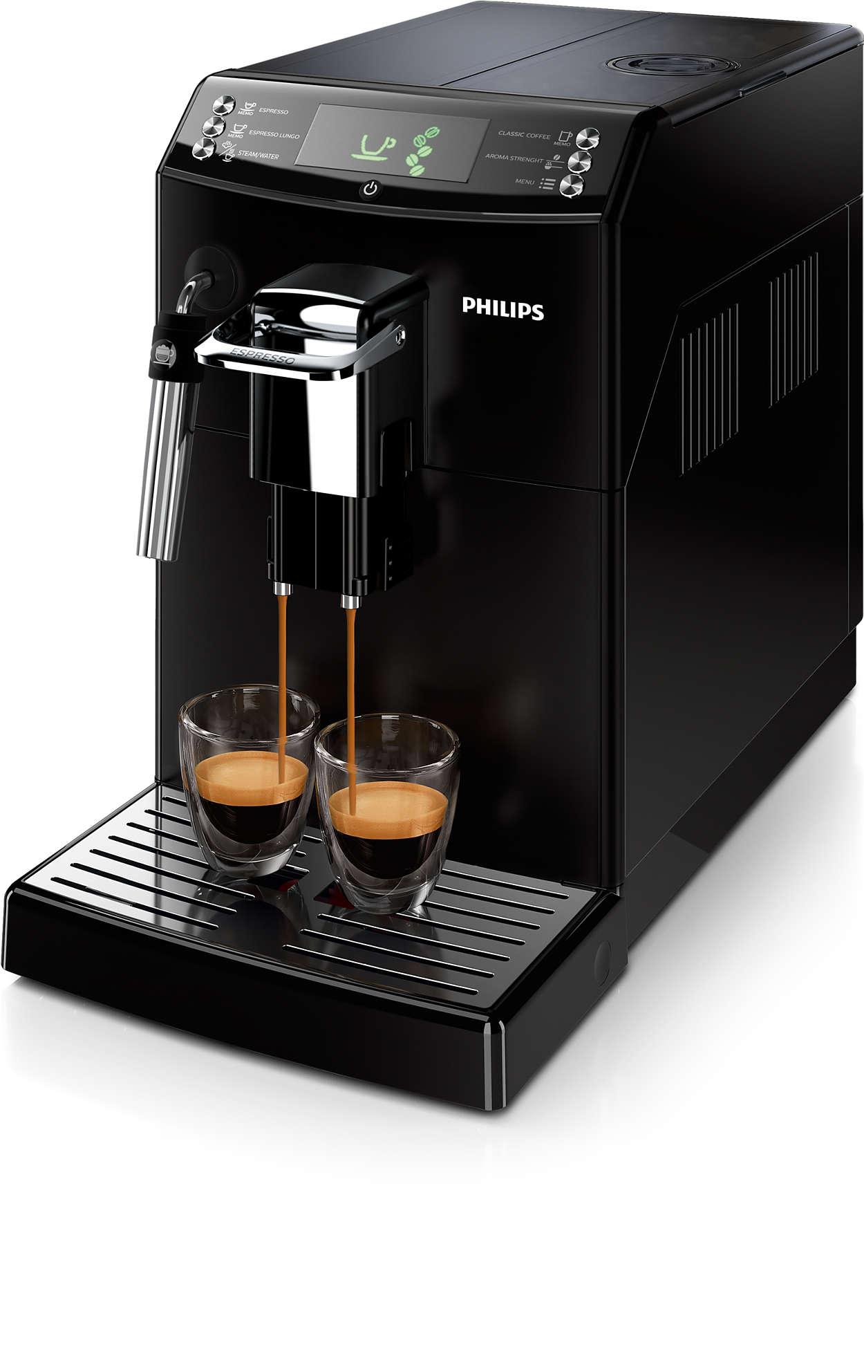 Un gran espresso con el auténtico sabor del café de filtro