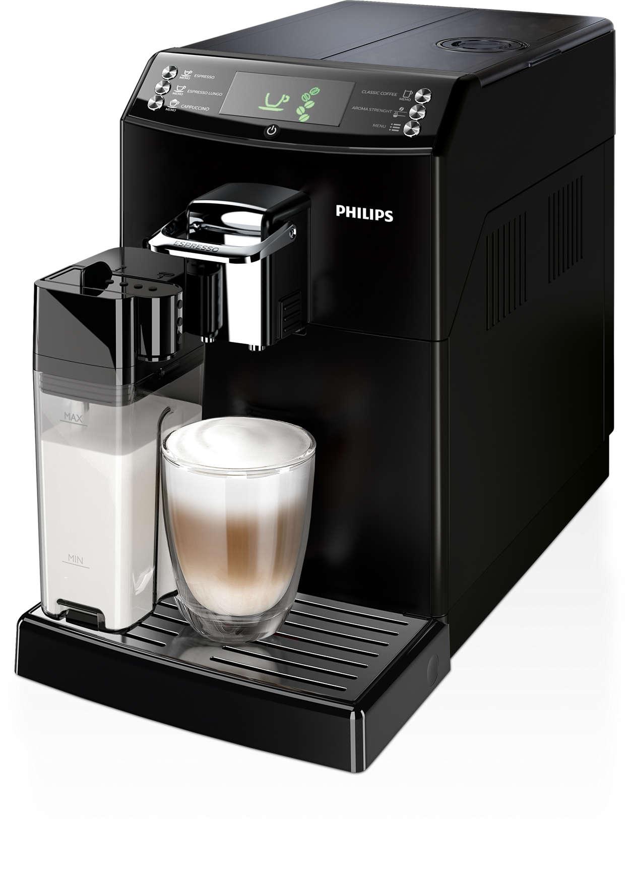 4000 series kaffeevollautomat hd8847 01 philips. Black Bedroom Furniture Sets. Home Design Ideas