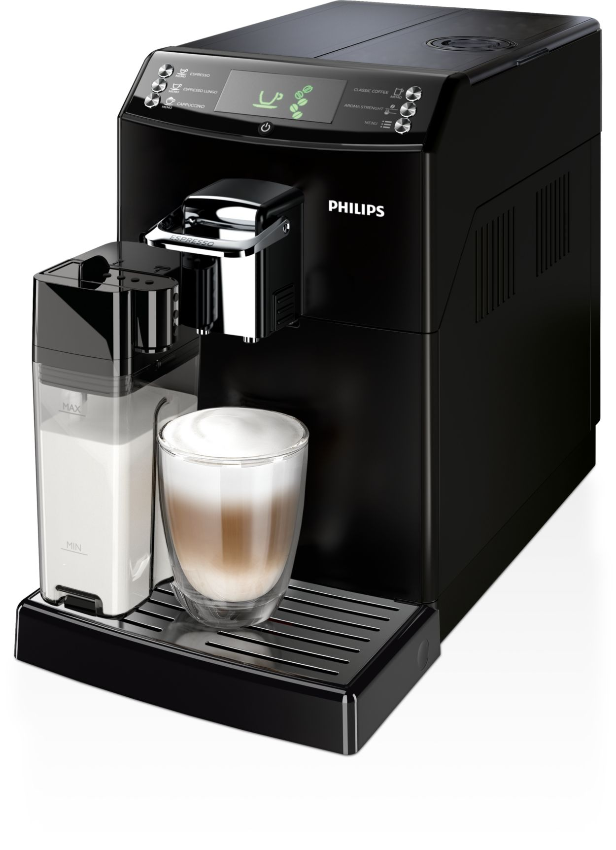 Electronic Real Coffee Machine 4000 series super automatic espresso machine hd884701 philips great and the real taste of filter coffee