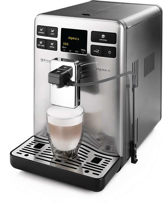 Savourez votre espresso
