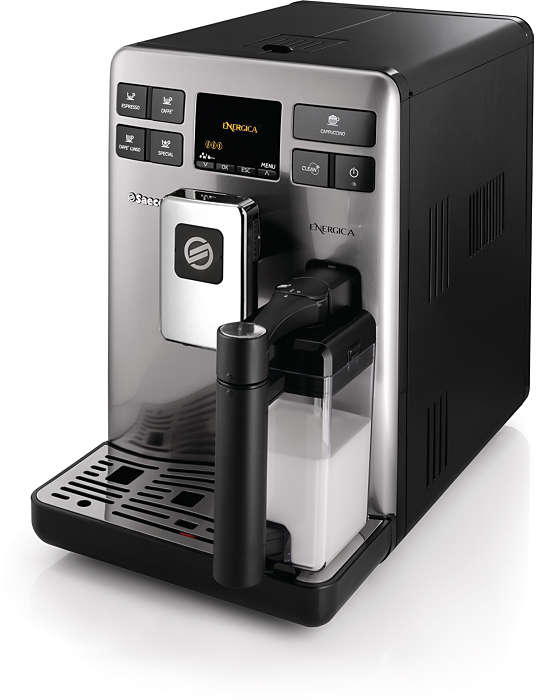 Perfekt espresso- och mjölkupplevelse