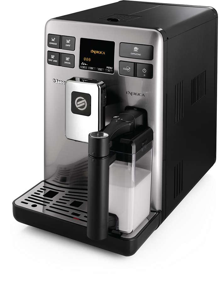 Perfecte espresso en koffie