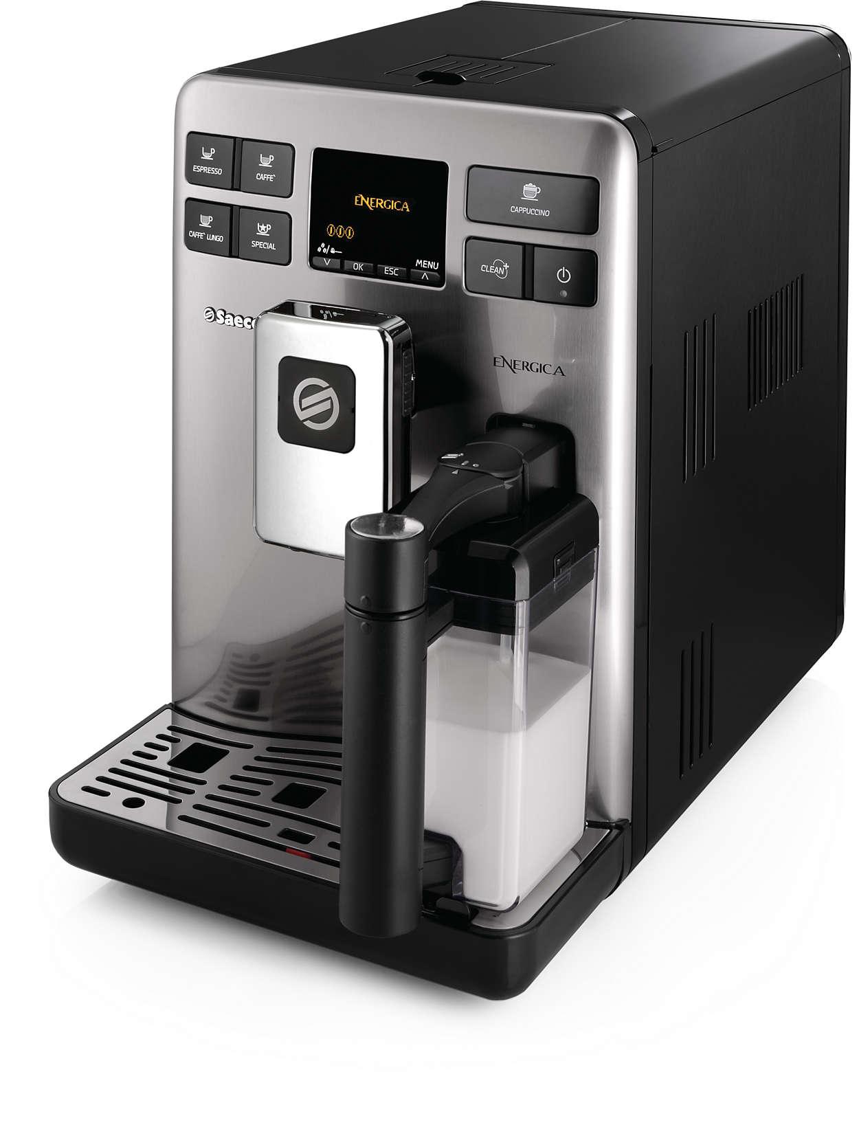 Doskonałe espresso i caffe lungo