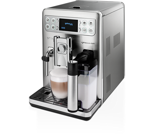 produkt saeco exprelia evo kaffeevollautomat hd8857 01 kaffeevollautomat kaufen. Black Bedroom Furniture Sets. Home Design Ideas