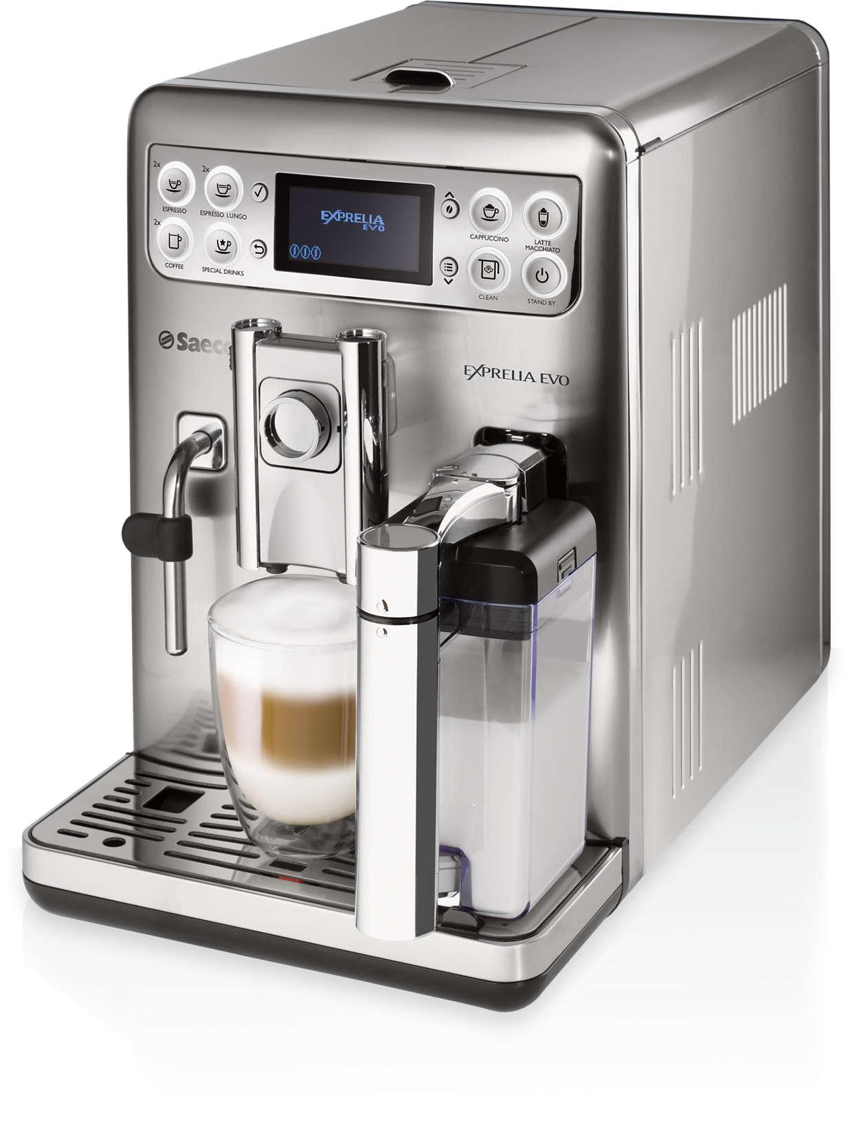 Café exquisito, exactamente a tu gusto