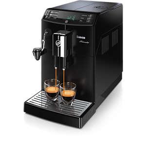 Minuto Cafetera espresso súper automática