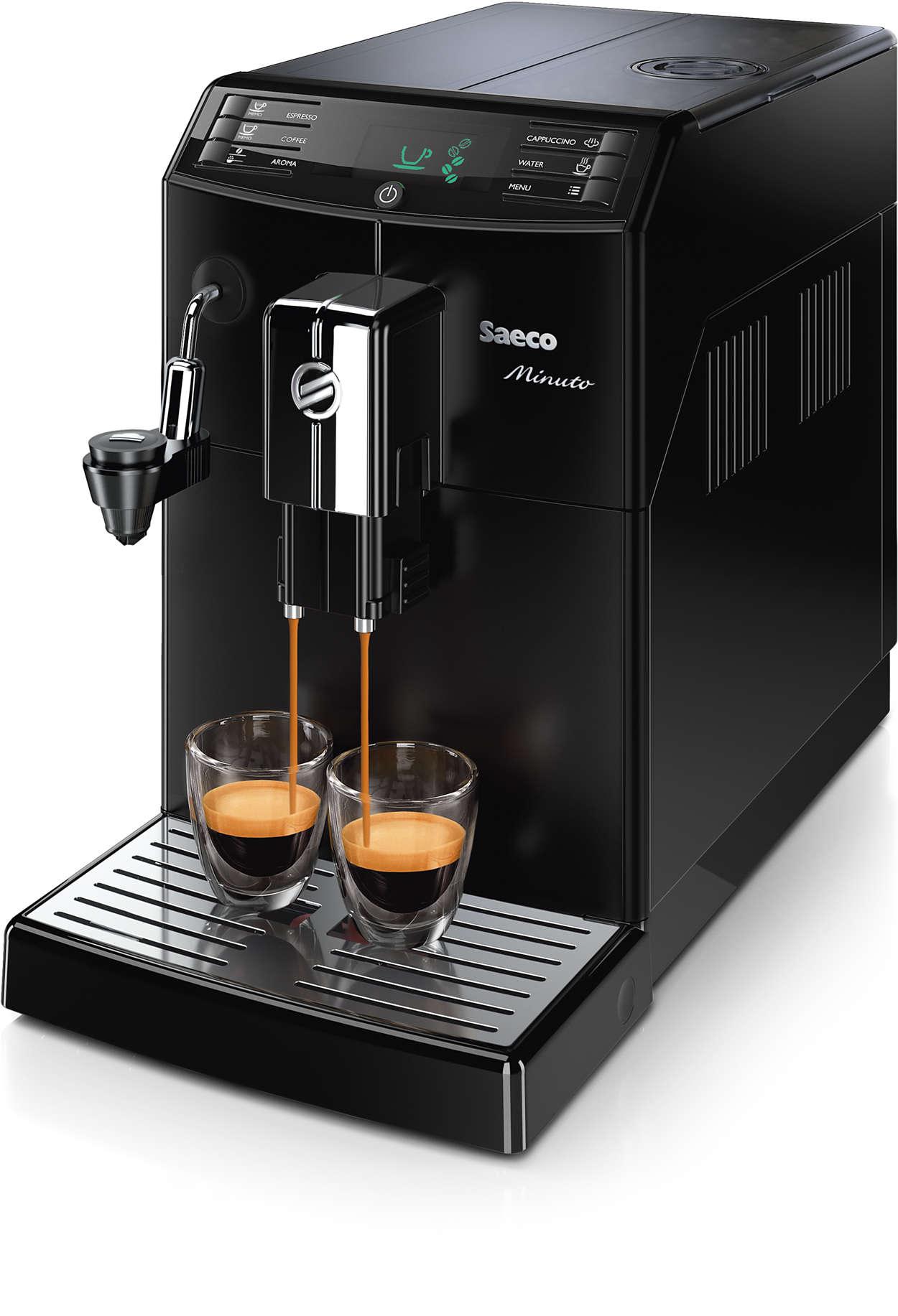 Vaše oblíbená káva vždy jedním dotykem