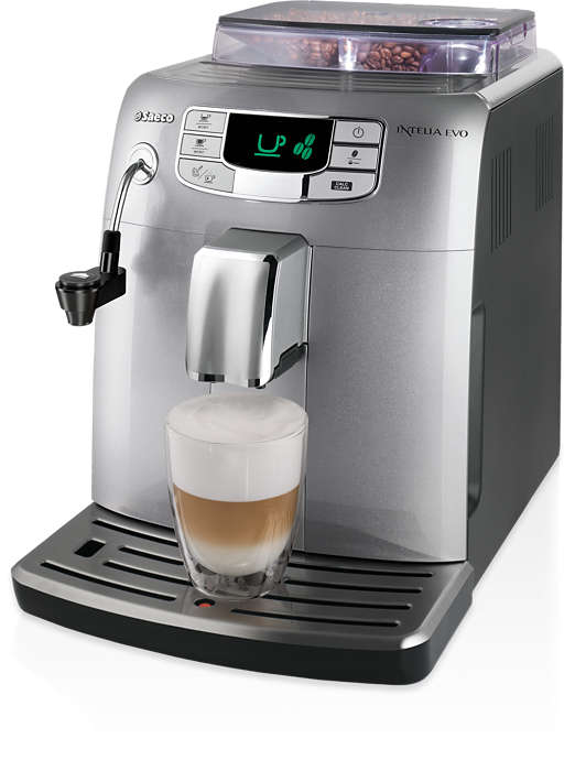 Эспрессо и молочная пена одним нажатием кнопки