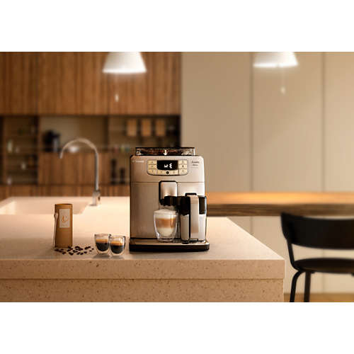 Intelia Deluxe Cafetera espresso súper automática